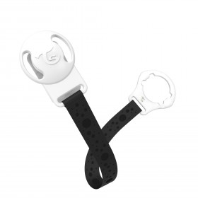 Twistshake Pacifier Clip Black