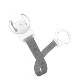 Twistshake Pacifier Clip Pastel Grey