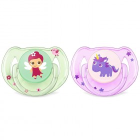 2 Pacifier Avent Classic...