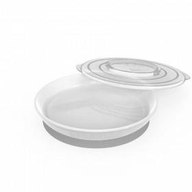 Twistshake Plate 6+m White