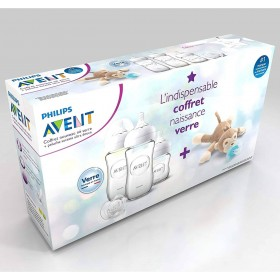 Baby Bottle Glass Set Avent...