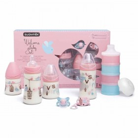 Baby Bottle Set Suavinex...