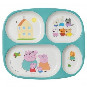 Meal Tray 4 Compartments Peppa Pig