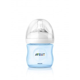 Philips Avent - Natural PP Baby Bottle Blue - 125 ml