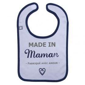"Bib ""Made in Maman"" Boy -..."