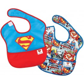 Bib with Pocket Superman x2