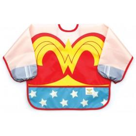 Bavoir-tablier Déguisement Wonder Woman chez Allobiberons.fr