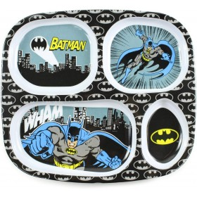 Plate with Compartments Batman