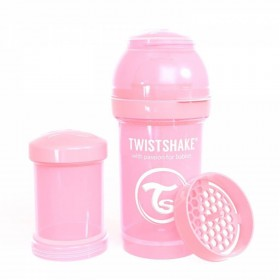 Pink Twistshake Bottle 180 ml
