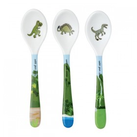 Lot of 3 Spoons Dinosaurs