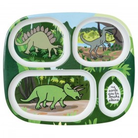 Meal Tray Compartment Dinosaurs