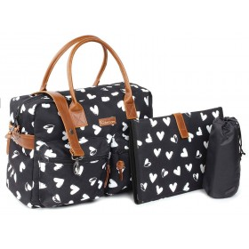 Diaper Bag Kidzroom Black...