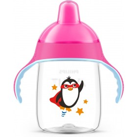 Pink Penguin Anti-Leak Beak...