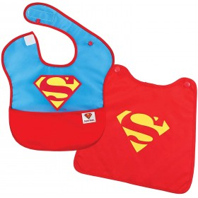Super Bib with Removable...