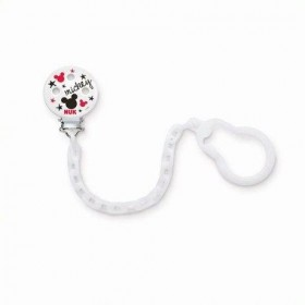 NUK Mickey Mouse Pacifier Clip