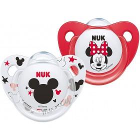 2 Sucettes NUK Minnie Mouse...