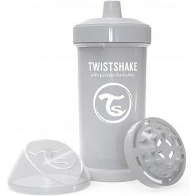 Kid Twistshake 360 ml Becher grau