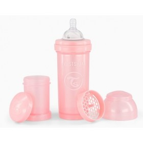 Pink Twistshake Bottle 260 ml