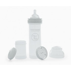 Twistshake White Bottle 330 ml