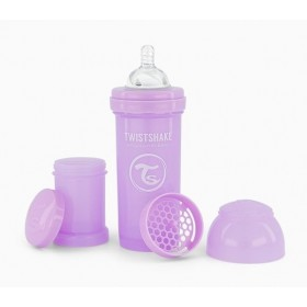 Purple Twistshake Bottle 260 ml
