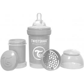 Twistshake Baby Bottle Gray...