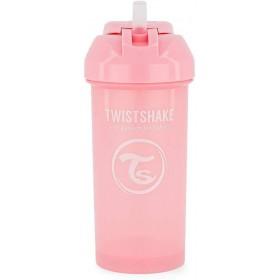 Strohbecher Twistshake 360 ml Pink