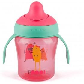 Learning Cup Suavinex Booo 200 ml Pink