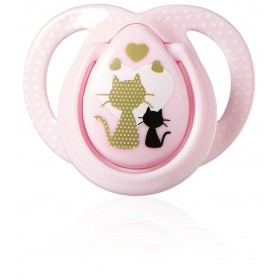 Tommee Tippee - Pink Moda Pacifier - 0-6 months