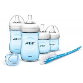 Philips Avent - Natural Newborn Kit Blue Bottle