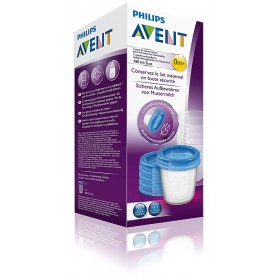 Philips Avent 5 Reusable Breast Milk Storage Cups