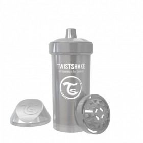 Tasse Kid Twistshake Gris...